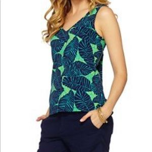 Lilly Pulitzer Palm Print Tank